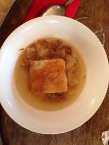 Zuppa di pane e germano reale