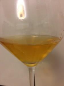 Calice vino macerato