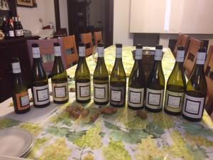 Passerella dei vini degustati