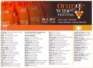 ORANGE WINE FESTIVAL 2017