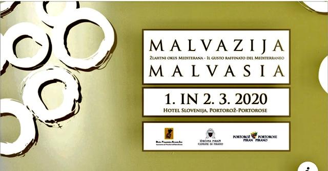 Festival della Malvasia 2020  Portorose (Slovenia)